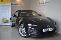 USED 2015 65 MAZDA MX-5 2.0 SPORT NAV 2d 158 BHP Immaculate - Mazda + One Private Owner - Cream Leather Seats - Satellite Navigation - Full Mazda Service History - Heated Seats - Luggage Rack - Must Be Seen