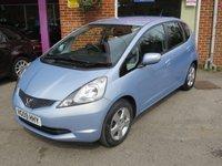 2009 HONDA JAZZ 1.3 I-VTEC ES I-SHIFT 5d AUTO 98 BHP £SOLD