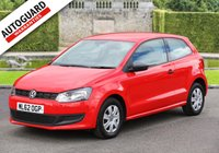 USED 2012 62 VOLKSWAGEN POLO 1.2 S 3d 70 BHP Finance from only £28 p/w!