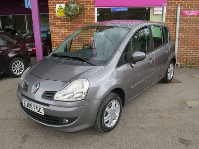USED 2008 08 RENAULT GRAND MODUS 1.6 DYNAMIQUE VVT 5d AUTO 110 BHP AUTOMATIC LOW MILEAGE, FINANCE ME TODAY-PX & UK DELIVERY POSSIBLE