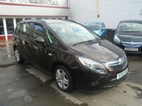 USED 2015 15 VAUXHALL ZAFIRA TOURER 1.4 EXCLUSIV 5d 138 BHP Retail price £9495,with £500 minimum part exchange allowance,balance price £8995.