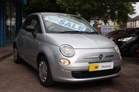 USED 2010 10 FIAT 500 1.2 POP 3dr 69 BHP ZERO DEPOSIT FINANCE AVAILABLE