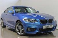 USED 2014 64 BMW 2 SERIES 2.0 218D M SPORT 2d 141 BHP