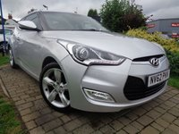 USED 2013 62 HYUNDAI VELOSTER 1.6 GDI 4d 138 BHP **Stunning Coupe Great Spec Hyundai History 12 Months Mot**