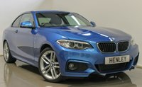 USED 2016 16 BMW 2 SERIES 1.5 218I M SPORT 2d 134 BHP