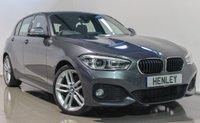 USED 2015 15 BMW 1 SERIES 1.6 118I M SPORT 5d 134 BHP
