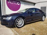 2015 AUDI A8 3.0 TDI QUATTRO SPORT EXECUTIVE 4d AUTO 254 BHP £22995.00