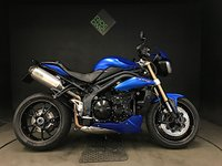 2014 TRIUMPH SPEED TRIPLE 1050 ABS 2014. 14K. ALARM. ARROWS. EXTRAS LOVELY CONDITION £6290.00