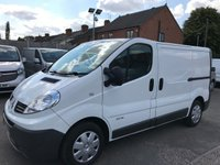 2014 RENAULT TRAFIC 2.0 SL27 DCI 115 BHP JUST 61K FSH AND NO VAT TO PAY!!!! £7750.00
