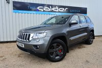 2012 JEEP GRAND CHEROKEE 3.0 V6 CRD LIMITED 5d AUTO 237 BHP £15995.00