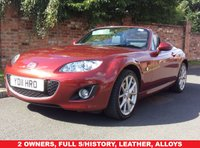 2011 MAZDA MX-5 2.0 I ROADSTER SPORT TECH 2d 158 BHP £7750.00