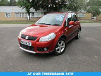 USED 2009 09 SUZUKI SX4 1.6 GLX 5d 107 BHP AT OUR TWEEDBANK SITE