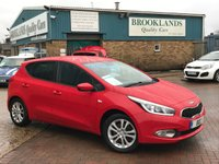 2015 KIA CEED 1.4 SR7 TRACK RED Black Cloth 5 DOOR 98 BHP £7295.00