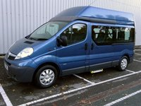 2012 VAUXHALL VIVARO 2.0 2900 CDTI HIGH ROOF 7 SEAT WHEELCHAIR LIFT (M1) WAV £14995.00