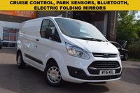 USED 2016 16 FORD TRANSIT CUSTOM 2.2 290 TREND LR P/V 1d 124 BHP Here we have a July 2016 Ford Transit Custom 2.2tdci 125 Trend low roof in white priced at just £10499 + vat.
