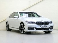 2016 BMW 7 SERIES 3.0 730D XDRIVE M SPORT 4d AUTO 261 BHP [VAT Q] [HUGE SPEC] [METALLIC WHITE] £38820.00