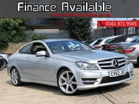 USED 2013 62 MERCEDES-BENZ C CLASS 2.1 C250 CDI BLUEEFFICIENCY AMG SPORT 2d AUTO 204 BHP