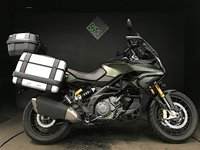 2015 APRILIA CAPONORD 1200 RALLY. 2015. SAT NAV. 23K. FULL LUGGAGE. HIGH SPEC £6750.00