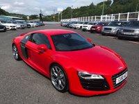 2010 AUDI R8 5.2 V10 QUATTRO 2d 519 BHP £57500.00