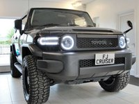 2015 TOYOTA FJ CRUISER 4L V6 PETROL 4x4 AUTOMATIC SUV  JEEPSTER BLACK EDITION. VAT Qualifying and included in price. £39994.00
