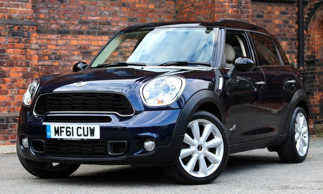 2011 61 MINI COUNTRYMAN 1.6 COOPER S ALL4 5d AUTO 184 BHP