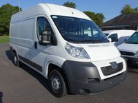 2013 PEUGEOT BOXER 335 L2 H2 MWB HIGHTOP 2.2 HDI £SOLD