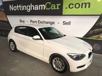 2013 BMW 1 SERIES 1.6 116D EFFICIENTDYNAMICS 5d 114 BHP £6895.00