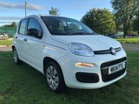 2014 FIAT PANDA 1.2 POP WHITE 5 DOOR 21000 MILES FSH  £4295.00