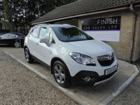 USED 2014 14 VAUXHALL MOKKA 1.7 SE CDTI S/S 5d 128 BHP # FULL SERVICE HISTORY WITH 4 STAMPS # HEATED SEATS # LEATHER INTERIOR # PARKING SENSORS #