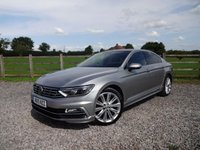 USED 2015 15 VOLKSWAGEN PASSAT 2.0 R LINE TDI BLUEMOTION TECHNOLOGY DSG 4d AUTO 188 BHP 190 BHP DSG AUTOMATIC WITH FULL SERVICE HISTORY