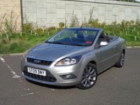 USED 2009 09 FORD FOCUS 2.0 CC2 2d 144 BHP LOW MILEAGE
