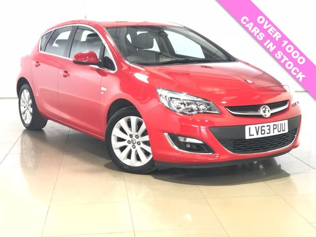 View our 2013 63 VAUXHALL ASTRA 1.6 SE 5d 115 BHP