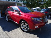 USED 2011 11 LEXUS RX 3.5 450H SE-I 5d SELF-CHARGING HYBRID AUTOMATIC 4x4 249 BHP FOUR WHEEL DRIVE Full Service History, One Previous Owner, Minimum 6 months MOT, Self-Charging Hybrid, Automatic, Four Wheel Drive, Balance of Lexus Hybrid Battery Warranty until 2019 / 100,000 miles. FREE 12 month RAC Platinum Warranty (£1,000 claim limit / unlimited claims)