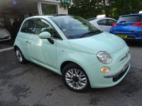 USED 2014 14 FIAT 500 1.2 LOUNGE 3d 69 BHP Low Mileage, One Owner from new, Serviced by ourselves, MOT until August 2018, Great on fuel economy! Only £30 Road Tax!