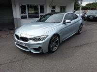 USED 2015 61 BMW 4 SERIES 3.0 M4 2d AUTO 426 BHP FINANCE AND PART EXCHANGE WELCOME. 3 MONTHS WARRANTY. ALL CARS HAVE A YEAR MOT AND A FRESH SERVICE.