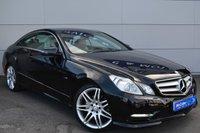 USED 2012 MERCEDES-BENZ E CLASS 2.1 E220 CDI BLUEEFFICIENCY SPORT 2d AUTO 170 BHP