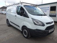 USED 2016 16 FORD TRANSIT CUSTOM 2.2 290 ECO-TECH LOW ROOF, 99 BHP, 1 COMPANY OWNER, LOW MILES