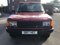 1998 LAND ROVER RANGE ROVER 2.5 DSE 5d 134 BHP £2750.00
