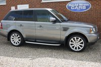 USED 2008 58 LAND ROVER RANGE ROVER SPORT 3.6 TDV8 SPORT HSE 5d AUTO 269 BHP