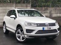 USED 2014 64 VOLKSWAGEN TOUAREG 3.0 V6 R-LINE TDI BLUEMOTION TECHNOLOGY 5d AUTO 259 BHP LOW MILES/PAN ROOF/NAPPA LEATHER