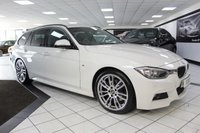 USED 2014 63 BMW 3 SERIES 330D M SPORT TOURING AUTO 255 BHP PAN ROOF ELEC TOW BAR ADAPTIVE XENONS