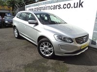 USED 2014 14 VOLVO XC60 2.4 D4 SE LUX AWD 5d 178 BHP One Owner Volvo Service History
