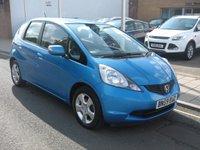 2009 HONDA JAZZ 1.3 I-VTEC ES I-SHIFT 5d AUTO 98 BHP £4995.00