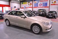 2010 MERCEDES-BENZ C CLASS 2.1 C220 CDI BLUEEFFICIENCY ELEGANCE 4d AUTO 170 BHP £7985.00