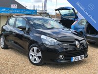 USED 2013 13 RENAULT CLIO 1.1 EXPRESSION PLUS 16V 5d 75 BHP Low Mileage 5 door in Stunning metallic black