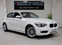 2013 BMW 1 SERIES 2.0 116D SE 5d 114 BHP £9980.00