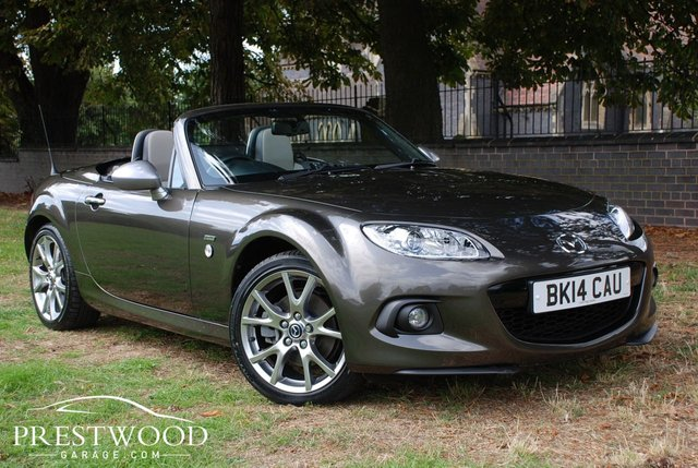 2014 14 MAZDA MX-5 ROADSTER 2.0i SPORT VENTURE [160 BHP] SPECIAL EDITION