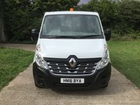 USED 2016 16 RENAULT MASTER 2.3 LL35 BUSINESS DCI L/R C/C DROPSIDE 1d 125 BHP LONG WHEEL BASE, 125 BHP, 1 OWNER,