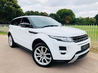 USED 2013 13 LAND ROVER RANGE ROVER EVOQUE 2.2 SD4 DYNAMIC 5d AUTO 190 BHP Full LR Service History! DAB! Meridian Surround Sound! Sat Nav!
