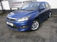 USED 2010 10 FORD FOCUS 1.6 ZETEC S S/S 5dr LOW MILEAGE